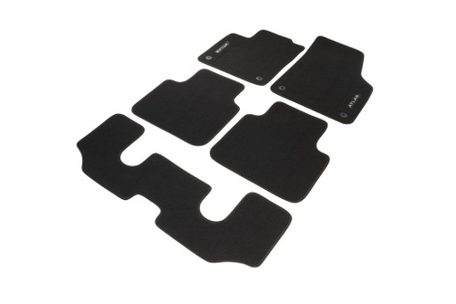 2018-2019 VW Atlas Floor Mats - Captain Chairs