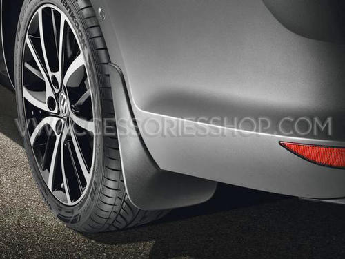 VW Golf SportWagen Splash Guards