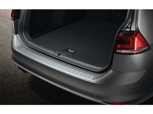 VW Golf SportWagen Rear Bumper Protector