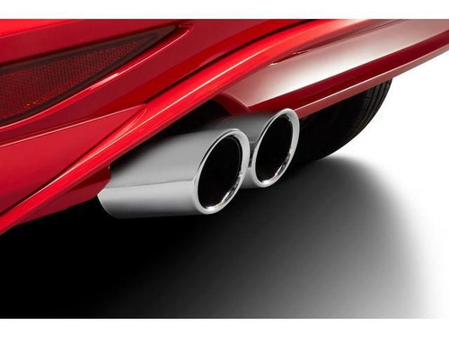 VW Golf SportWagen Stainless Steel Exhaust Tips