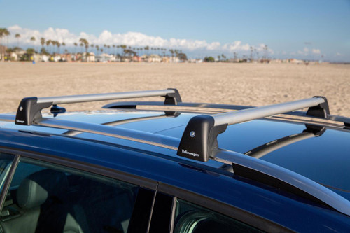 VW Golf SportWagen Roof Rack Bars