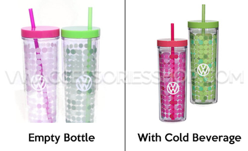 VW Color Changing Tumblers - Color Difference