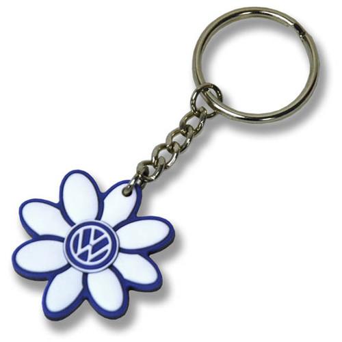 VW Daisy Keychain - Blue
