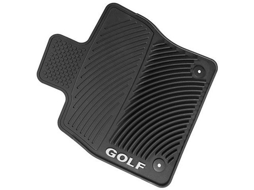 VW Golf SportWagen Rubber Floor Mats