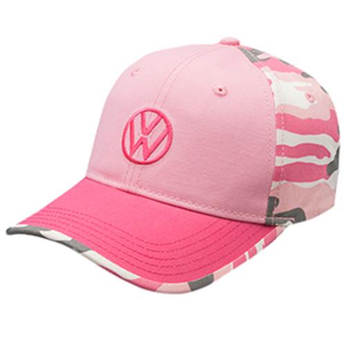 Volkswagen Pink Camo Hat
