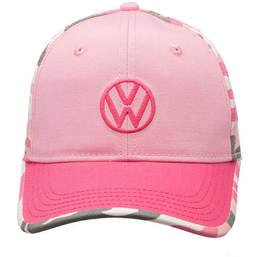 Vw Pink Camo Hat
