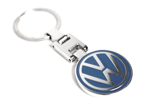 VW Blue Key Chain