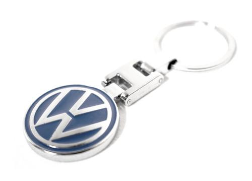 VW Blue Key Chain