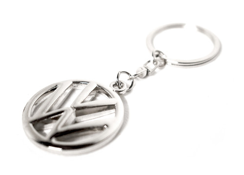 VW Silver Key Chain
