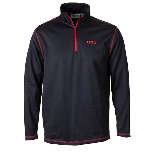 VW GTI 1/4 Zip Pullover Shirt - Front
