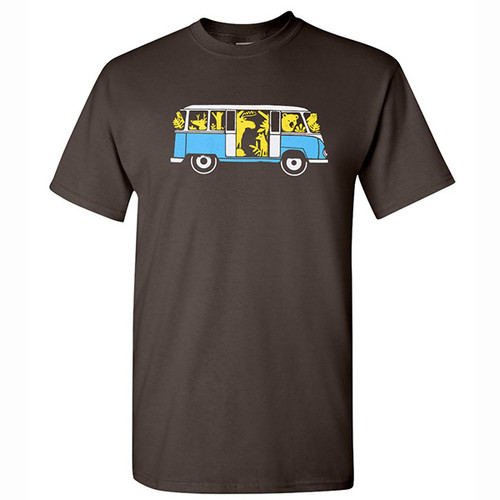 VW Animal Bus T-Shirt
