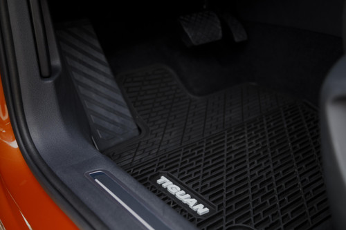 2020 VW Tiguan Rubber Floor Mats