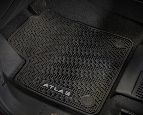 2020 VW Atlas Cross Sport Rubber Floor Mats