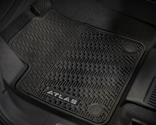2020-2022 VW Atlas Cross Sport Rubber Floor Mats