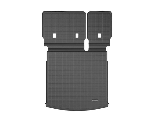 2020 VW Atlas Cross Sport Rubber Cargo Mat w/ Seat Back Protection
