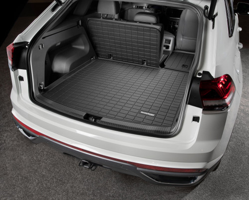 2020-2021 VW Atlas Cross Sport Rubber Cargo Mat w/ Seat Back Protection