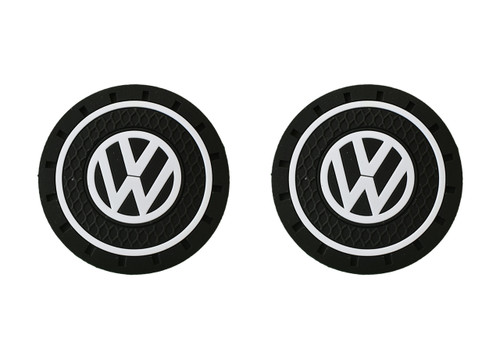 VW Rubber Car Coasters (Z081)