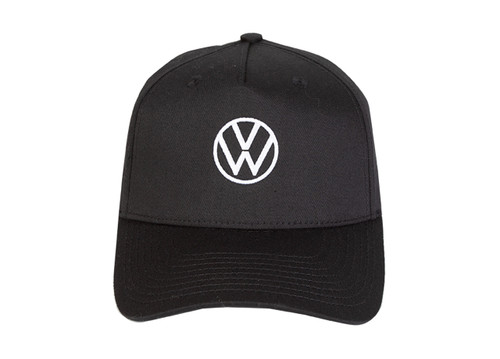 VW Twill Baseball Hat - Black