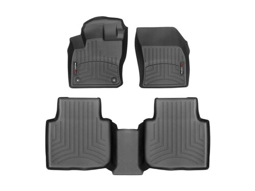 2020-2021 VW Tiguan WeatherTech Floor Liners - Front and Second Row Mats Shown
