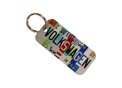 Volkswagen License Plate Keychain (Front)