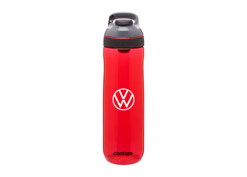 Volkswagen Contigo Water Bottle (red)