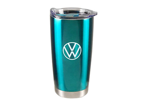 Volkswagen Teal Travel Mug