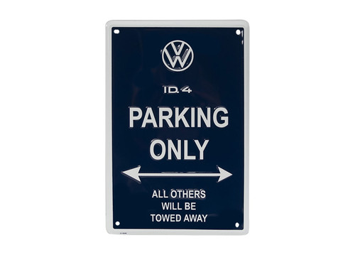 VW ID.4 Parking Only Metal Sign