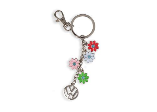 VW Daisy Dangle Keychain