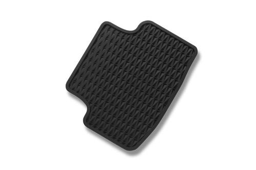 2022 Volkswagen Taos Rubber Floor Mats - Rear Mat