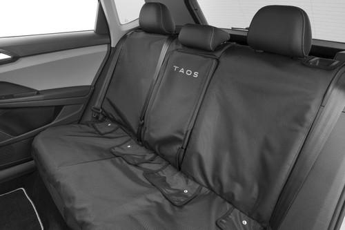 VW Taos Rear Seat Cover