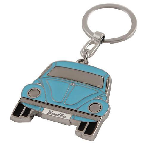 VW Beetle Keychain - Blue
