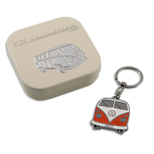VW Bus Keychain - Red