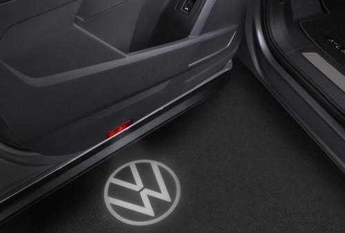 VW Logo Front Door LED Puddle Light