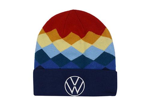 VW Multicolor Knit Cap