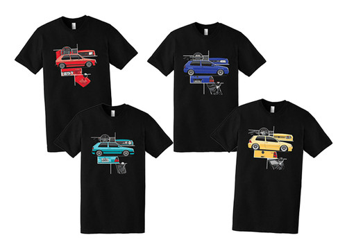 Volkswagen GTI MK T-Shirt