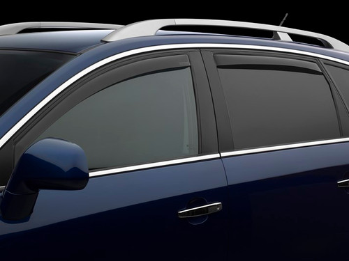 4-Piece Set for 2018-2018 Volkswagen Atlas Auto Vent Shade 194998 in-Channel Vent Visor Side Window Deflector