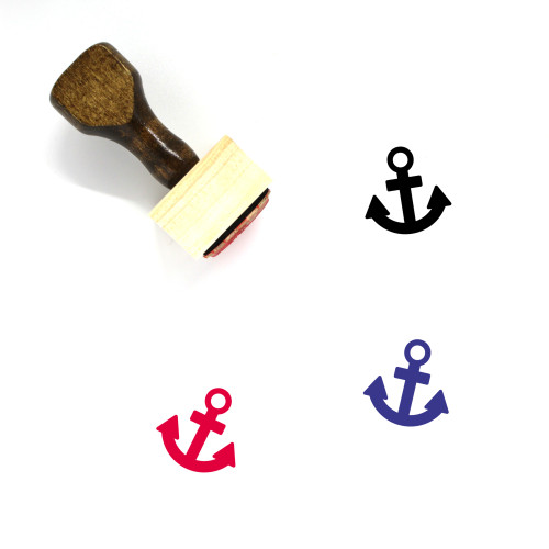 Anchor Wooden Rubber Stamp No. 163