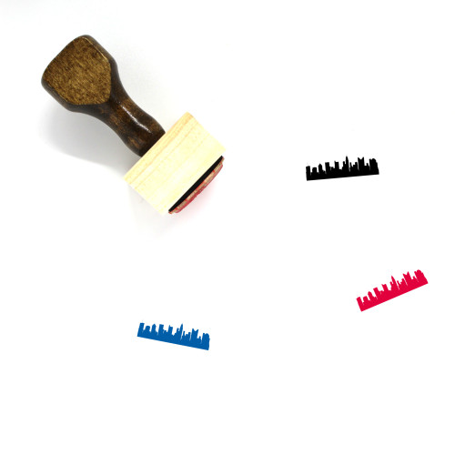 Columbus Wooden Rubber Stamp No. 1