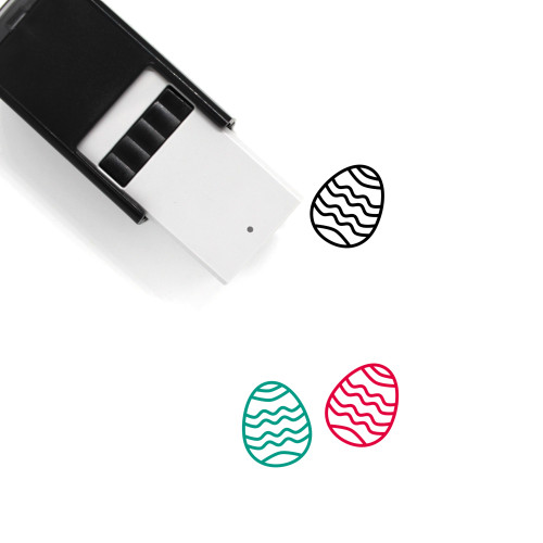 Easter Egg Self-Inking Rubber Stamp No. 300