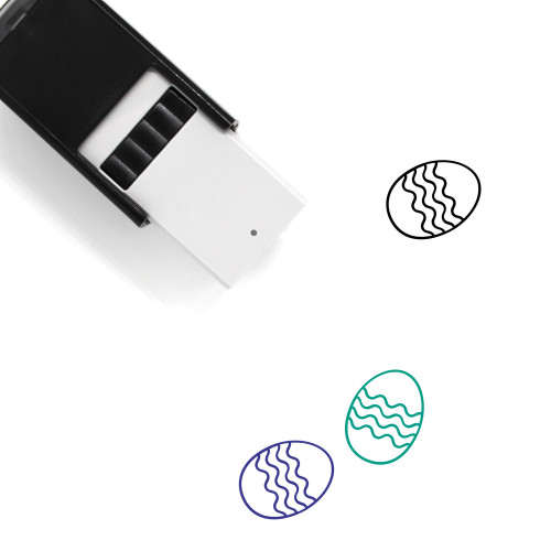 Easter Egg Self-Inking Rubber Stamp No. 301