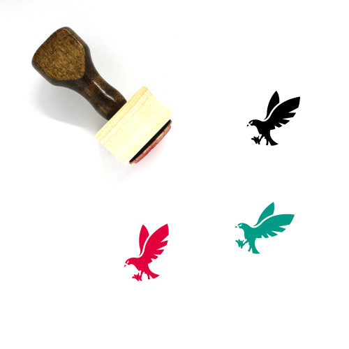 Eagle Wooden Rubber Stamp No. 76