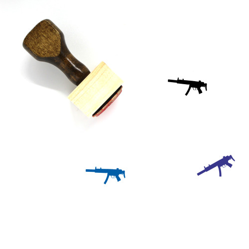 MP5 Wooden Rubber Stamp No. 1