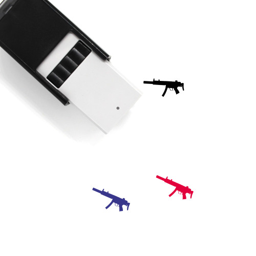 MP5 Self-Inking Rubber Stamp No. 1