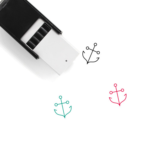 Anchor Self-Inking Rubber Stamp No. 209