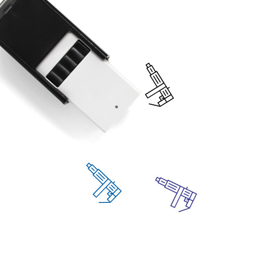 Ak 47 Self-Inking Rubber Stamp No. 2