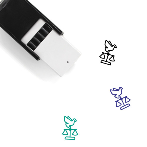Human Rights Self-Inking Rubber Stamp No. 2