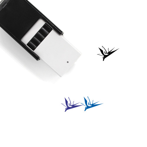 Bird Of Paradise Self-Inking Rubber Stamp No. 1