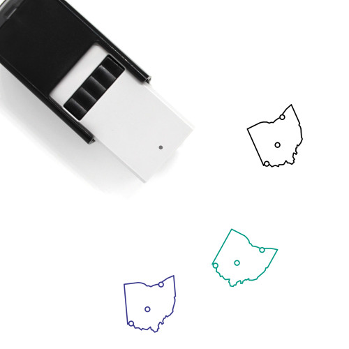 Ohio Self-Inking Rubber Stamp No. 24