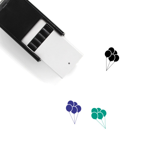 Balloons Self-Inking Rubber Stamp No. 13