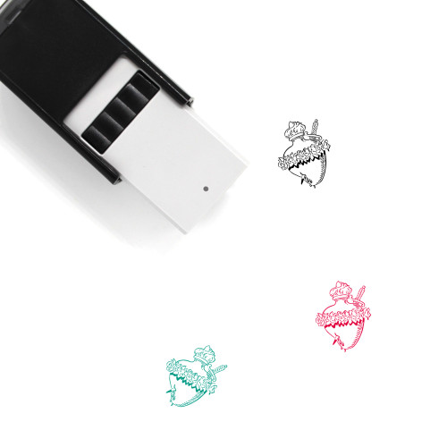 Sacred Heart Self-Inking Rubber Stamp No. 4